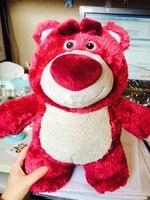 Original Toy Story Lotso Strawberry Bear Q Cute Kawaii Stuff Plush Toy Girl Baby Birthday Gift