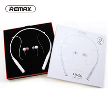 Remax RB-S6 Bluetooth Headset Sport Wireless Earphone For Huawei mate 20 p20 p30 pro p smart Honor 9 Lite Neckband Headphone