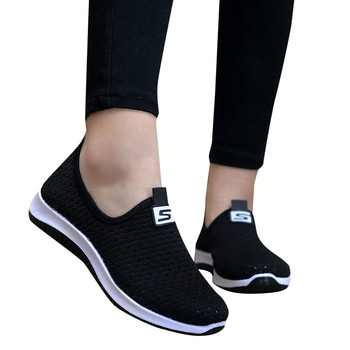 women breathable air mesh sneakers   2