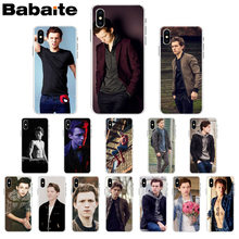 Babaite Tom Holland DIY Printing Drawing Phone Case cover Shell for iPhone X XS MAX 6 6s 7 7plus 8 8Plus 5 5S SE XR(China)