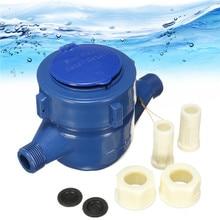 Малый размер конденсатор 15 мм пластиковый ротор Тип холодная вода стол Сад домашний измеритель воды измеритель холодной воды