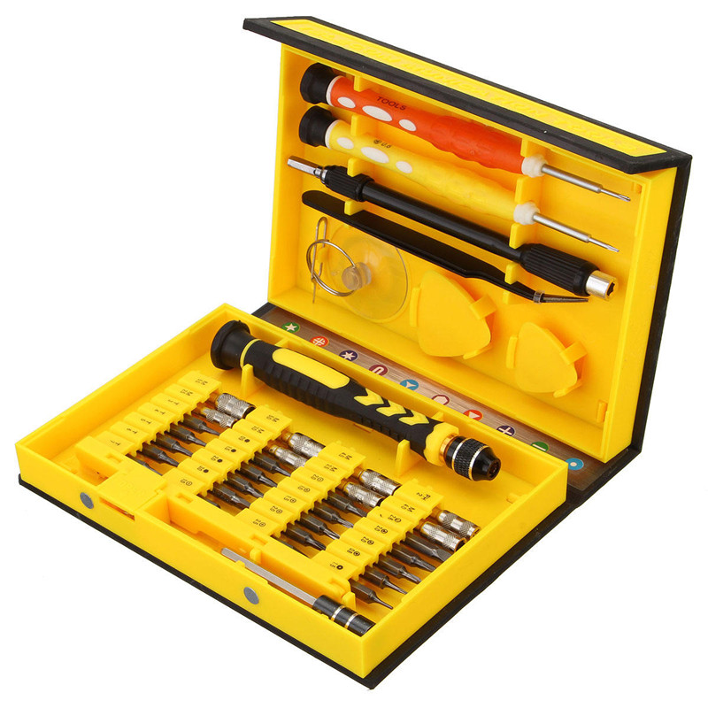 Mulitifuntion Tool Set Professional 38 in 1 Mobile Phone Repair Tools Kit Opening Screwdriver For iPhone 5s 5 4S 4 Sumsang 30 in1 all opening repair tools phone disassemble tools set kit for htc tablet pc for iphone professional electronic repair tool
