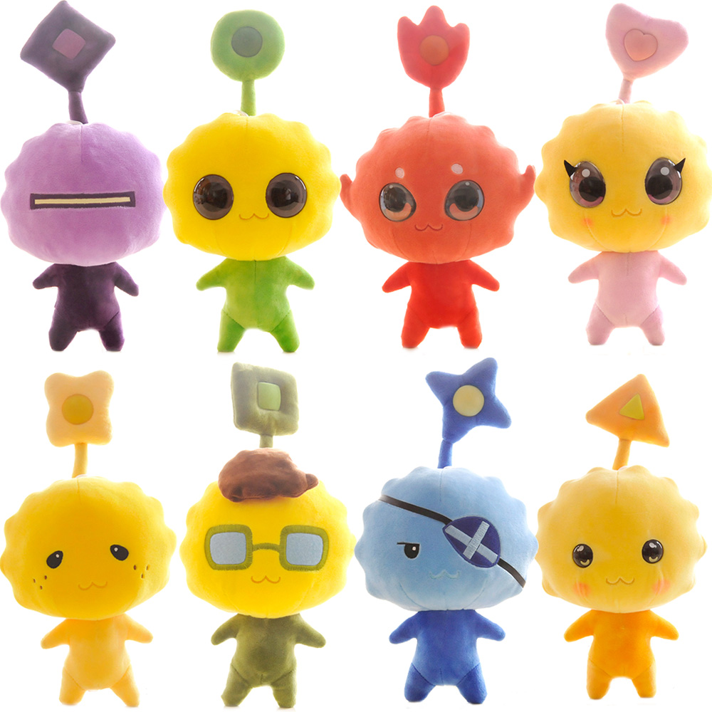 2016 size 30cm cute cartoon plushs toys cj7 small alien dog doll