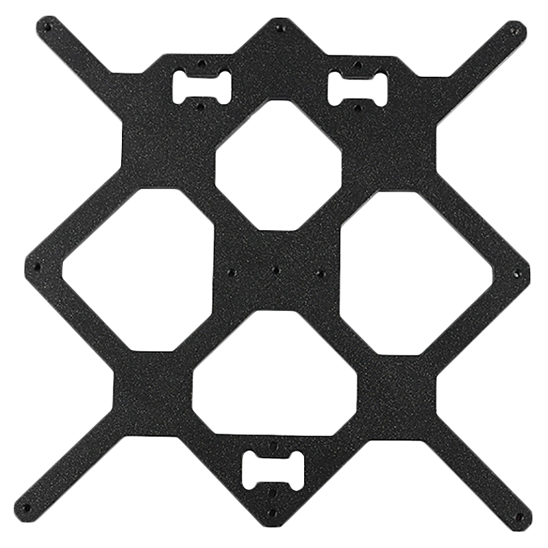 Accessoires d'imprimante 3D pour prusa I3 Mk3/Mk2.5 plaque de Support de lit chaud à axe Y + Kit de serrage Lm8Uu