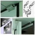 DIYSECUR ZL Bracket Uso Con 280 kg Cerradura Magnética Electrónica Para Puerta Estrecha/Sistema de Control de Acceso