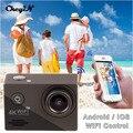 Ação Cam 4 K WiFi Ultra HD 1080 P Esporte Camera 2.0 LCD 170D Lente Grande-Angular 30 m Câmera subaquática de Alta Qualidade DVR85H-3131