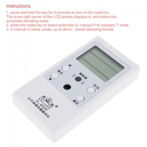 Image 5 - Kelang 600IR Infrared LCD Display DC3V Remote Control Decoder with Display for Maintenance