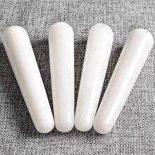 Natural handmade white jade massage  Wands guasha tool Health Beauty Body Massage Wands 115X20MM
