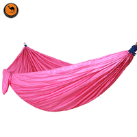 Hammock With Hammock Tree Rope Portable Lightweight Nylon Fabric For Backyard Indoor Outdoor Hiking Beach Travel
