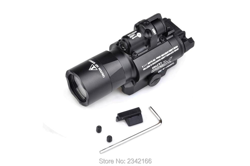 EX 367 Element SF X400U ULTRA LED Tactical Light Weapon Light With Red Laser Sight For Pistol or Hunting laser head 440 bdp4110 sf bd414