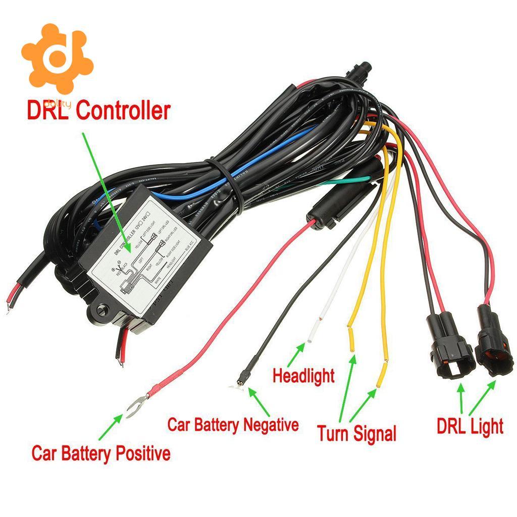 12V Car DRL Daytime Running Light Dimmer Module Controller
