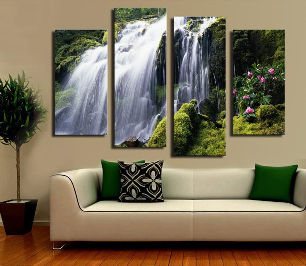 Waterfall Home Decor Popular Waterfall Panels Buy Cheap Waterfall Panels Lots From