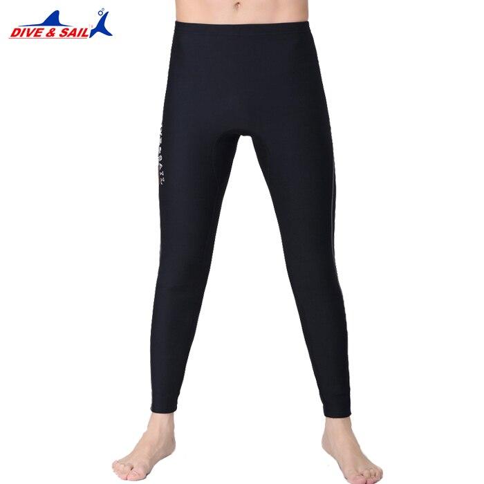 DIVE&SAIL 1.5MM Neoprene Diving Ankle-length Pants For Men Or Women Snorkeling Capri-pant Swimming Rowing Sailing Surfing Warm