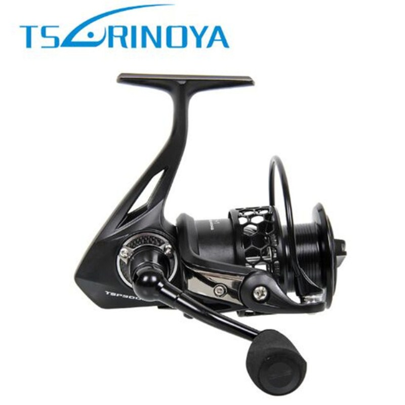 Tsurinoya Spinning Fishing Reel 5.2:1/12+1BB Max Drag 8kg Full Metal Steering-wheel Carretilha De Pesca Fishing Reels Molinete tsurinoya fs3000 fishing spinning reel 9 1bb 5 2 1 metal spools fishing lure reels max drag 7kg carretilha de pesca direita