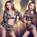 Ds Traje Atractivo Cantante Etapa Desgaste del Funcionamiento Ropa de Baile Hiphop