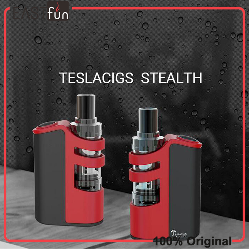 bilder für 100% Original Tesla Stealth kit 100 watt Teslacigs Stealth volle kit mit LiPo batterie 2200 mAh und teslacigs Schatten Tank