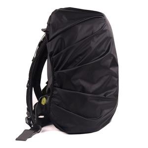 Image 4 - 높은 품질 안전 배낭 레인 커버 반사 방수 가방 커버 야외 캠핑 여행 방수 방진