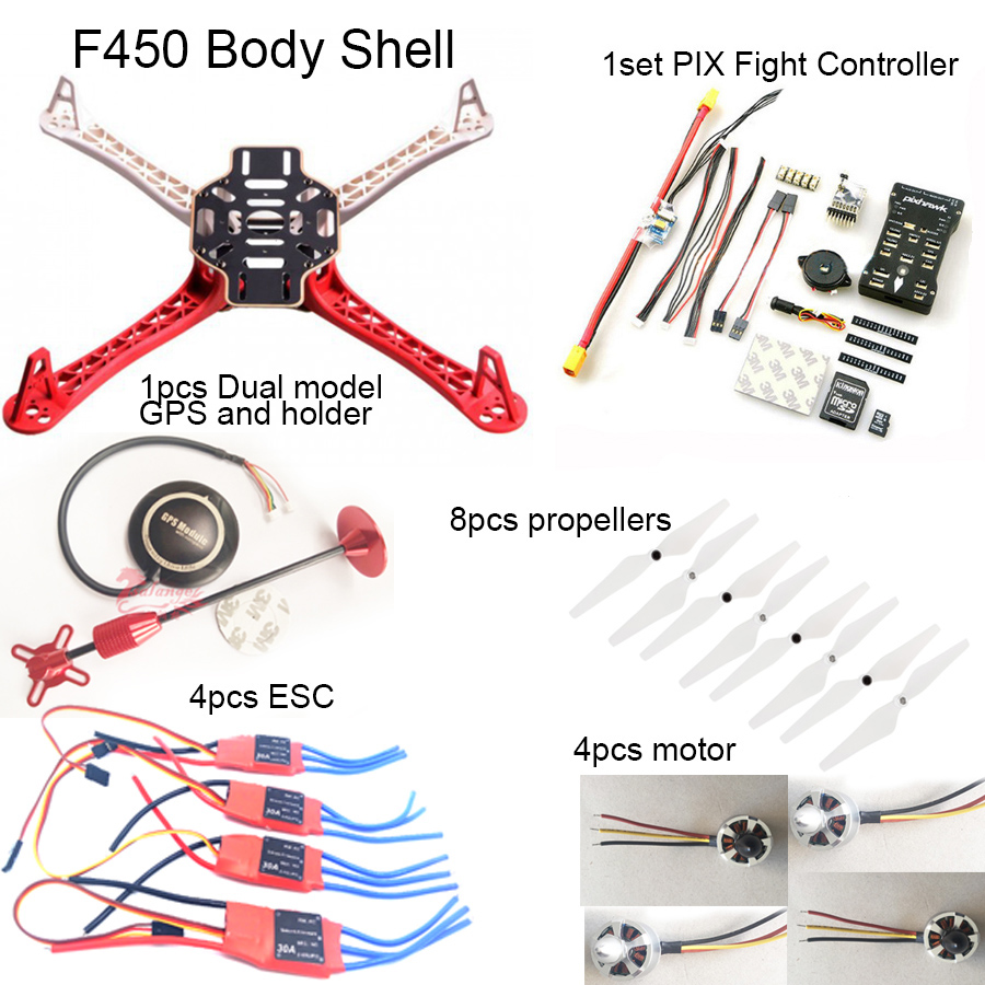 medium resolution of  quadcopter wiring schematic f450 quadcopter rack kit frame px4 pixhawk flight control v2 4 6 power module