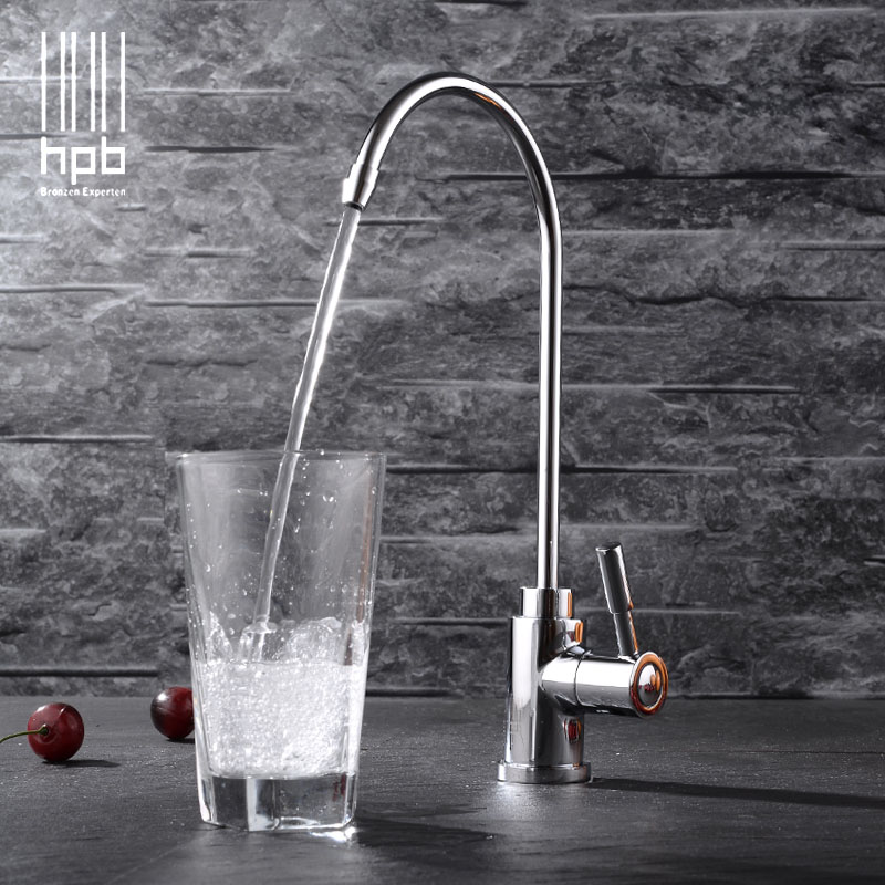 HPB Free Shipping Brass Lead free Cold Water Kitchen Faucet Drinking Water Filter Tap purified Water