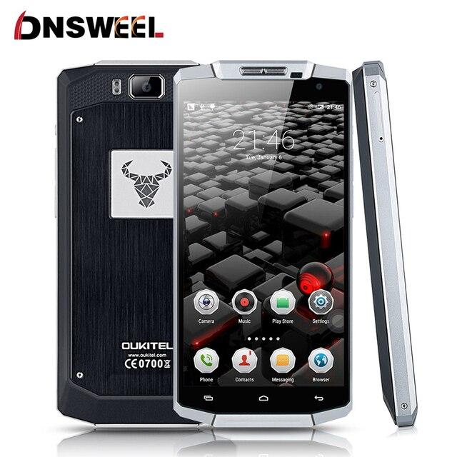 Оригинал Oukitel K10000 4 Г FDD LTE Смартфон Android 5.1 Леденец 5.5 дюймов 10000 мАч Батареи 2 ГБ + 16 ГБ ROM 720 P 13MP Мобильный Телефон