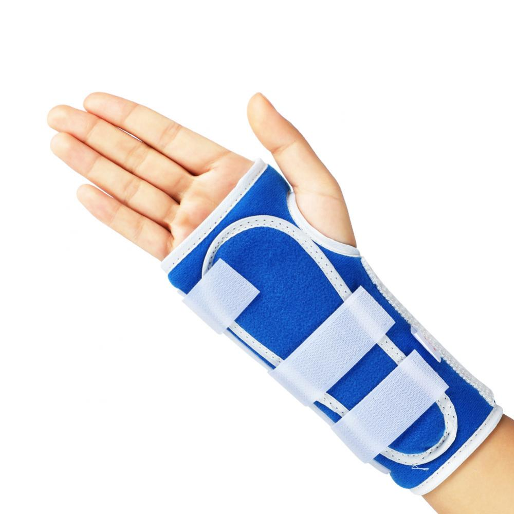 Hand Wrist Brace Adjustable Breathable Wrist Brace Hand Support Fracture Ligament Injury Arm Protection Strap
