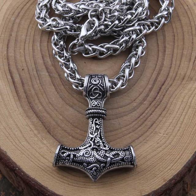 Collar De Acero Vikingo