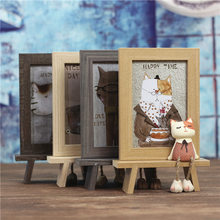Desktop Decoration Cat Photo Frame Gift (A935)(China)