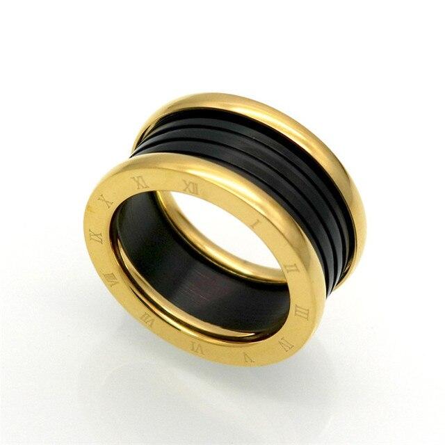 Luxury brand replica jewelry spring ringfashion ceramic finger