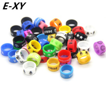 E-XY Colorful Silicone Band Non-Skid Ring Inner Diameter 18mm E Cig Accessories Silicone Rings Necklace For E Cigarette