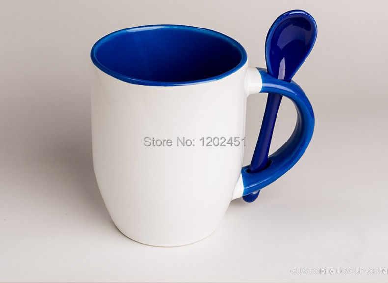 SPSCO 11oz Inside colored heat color changing coffee mug