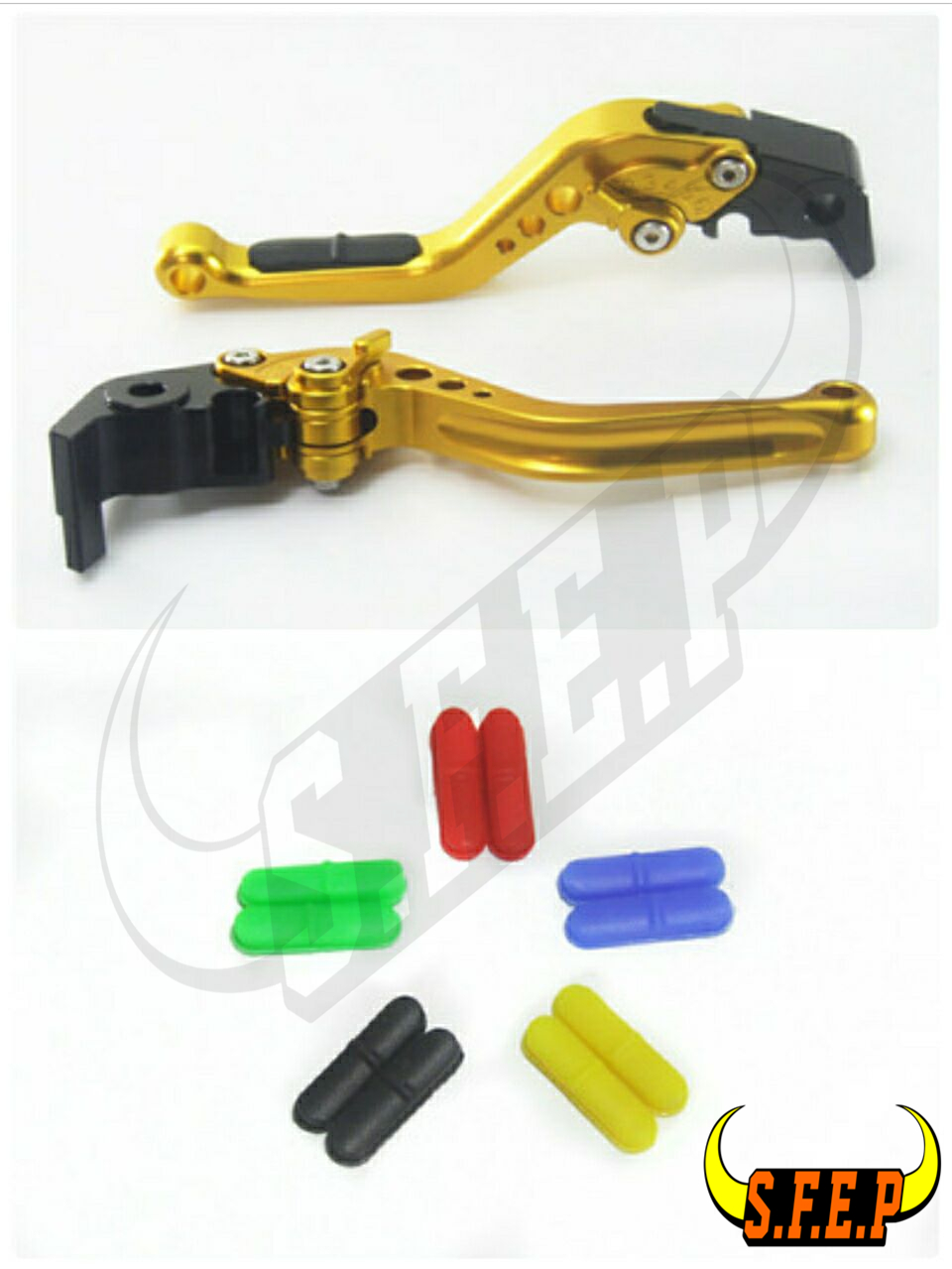 CNC Adjustable Motorcycle Brake and Clutch Levers with Anti-Slip For Honda VT750 Phantom/Shadow 2010-2017