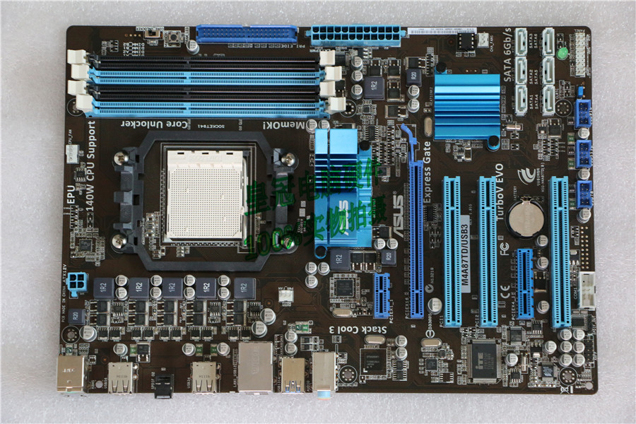 original motherboard for ASUS M4A87TD/<font><b>USB3</b></font> Socket AM3 DDR3 16GB USB2.0 <font><b>USB3</b></font>.0 870 desktop motherboard image
