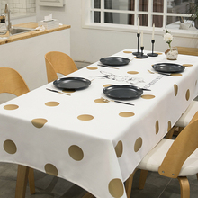 Table cloth, cotton and linen waterproof oil-free disposable coffee table mat, tablecloth