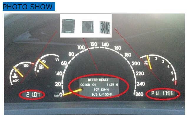 3 шт./компл. MB для Mercedes W210 W202 W208 приборной панели ЖК-дисплей инструмент для Benz ЖК-дисплей дисплей ленточный кабель 3 шт./лот