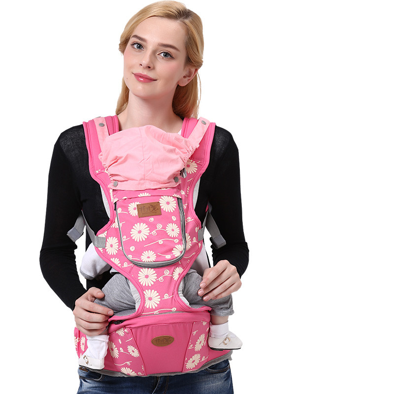 Baobaolong 0-48 Months Breathable Multifunctional Front Facing Baby Carrier Infant Comfortable Sling Backpack baby backpack carrier new ergonomic baby sling breathable multifunctional front facing kangaroo baby bag 0 36 months infant wrap
