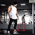 2016 year Free transport bodybuilding fitness sleeveless T-shirt vest fashion hip-hop fitness style men's vest