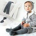 1 Conjunto Outono/Inverno Meninas Collants Kawaii Crianças Meias Bebê Elástica Meia-calça de Algodão Malhas Bonito acessórios Vestido 1-6A