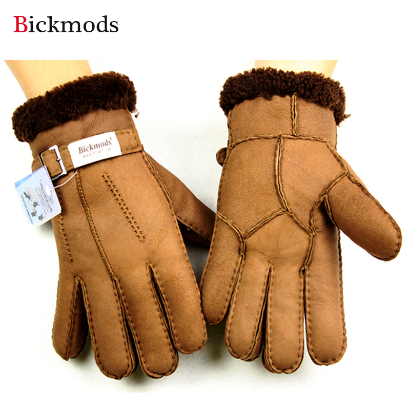 2017 new sheepskin fur gloves ms