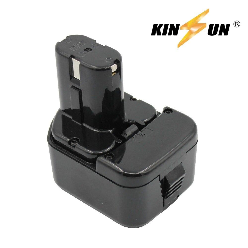 KINSUN Replacement Power Tool Battery 12V 2.0Ah for Hitachi Cordless Drill EB 1212S EB 1214L EB 1214S EB 1230HL EB 1220BL 1220HS