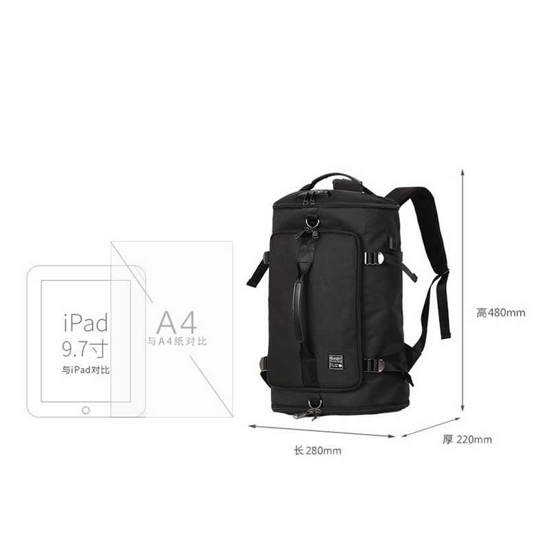 24b4035844bb ... Laamei Backpack Male Laptop Stylish Shoulder Bag Computer Backpacking  Men Functional Versatile Bags Mochila Hombre Travel