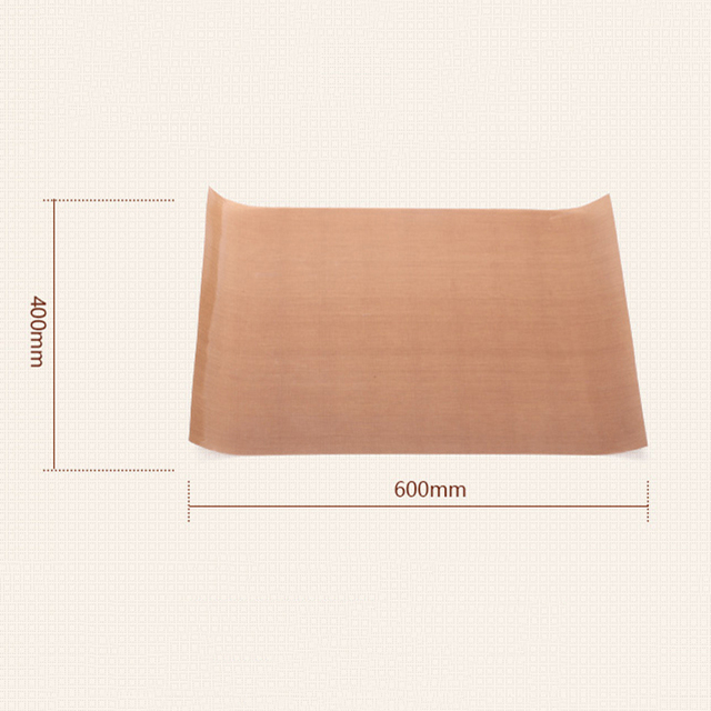 Reusable Resistant Baking Mat Non-stick 60*40cm Teflon Sheet Baking Paper Grill Liner Oil-proof Cooking Pad Sheet Baking Tools