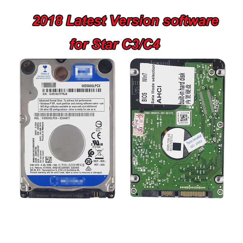 09/2018 HDD Software For MB STAR C4 SD connect c4, fit for mb star c5, avaliable for mb star c3 with fully function software SSD