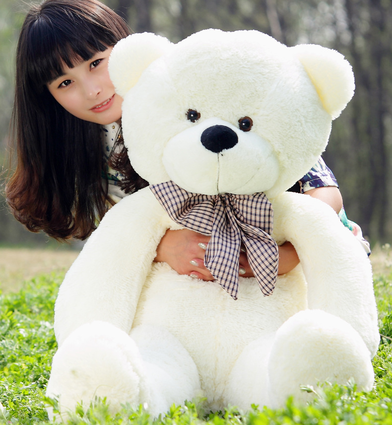 840c259f7de4d Hot Sale Cotton Light Brown Giant 180cm Cute Plush Teddy Bear Huge Soft TOY-in  Stuffed   Plush Animals from Toys   Hobbies on Aliexpress.com