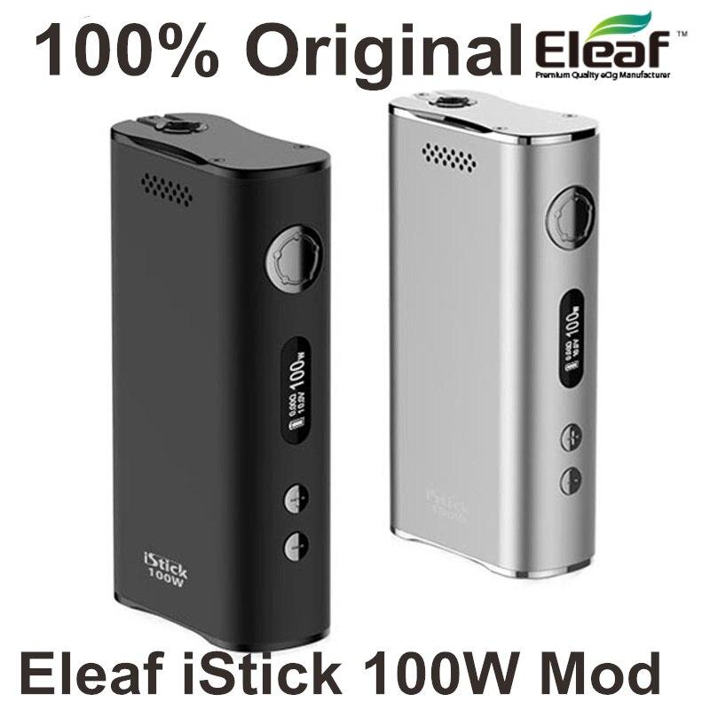 100% Original Eleaf istick 100w Box Mod istick 100 w ismoka Eleaf istick Mod 100w electronic cigarette mod original 100