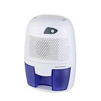 Dehumidifier Mini 500ml SemiconductorPortable Home Air Dryer Desiccant Moisture Absorber Low Noise Cabinet Dehumidifier