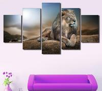 5 Piece Canvas Art Painting Print Poster Picture Canvas Wall Art Painting Wall Pictures Hd Animals