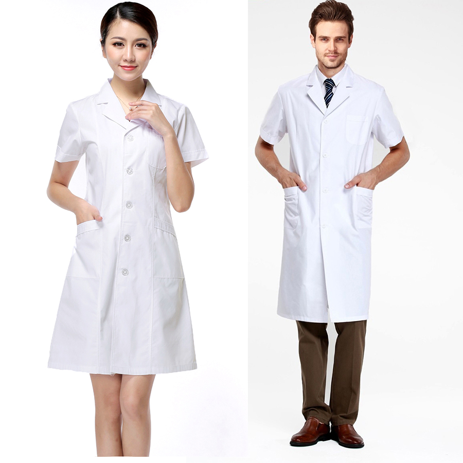 Long White Coat Doctor | Down Coat