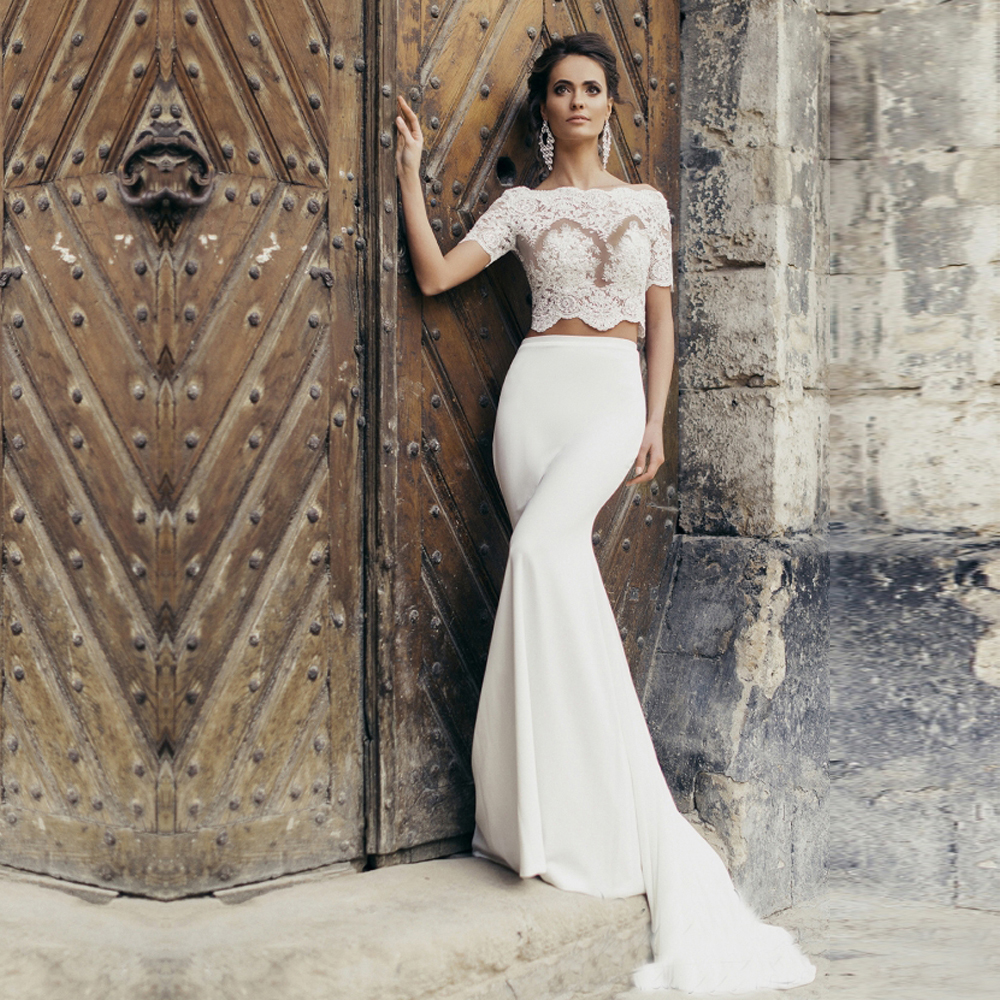 bridal trends two piece wedding dresses wedding dress 2 piece Bridal Trends Two Piece Wedding Dress Riki Dalal Verona Collection