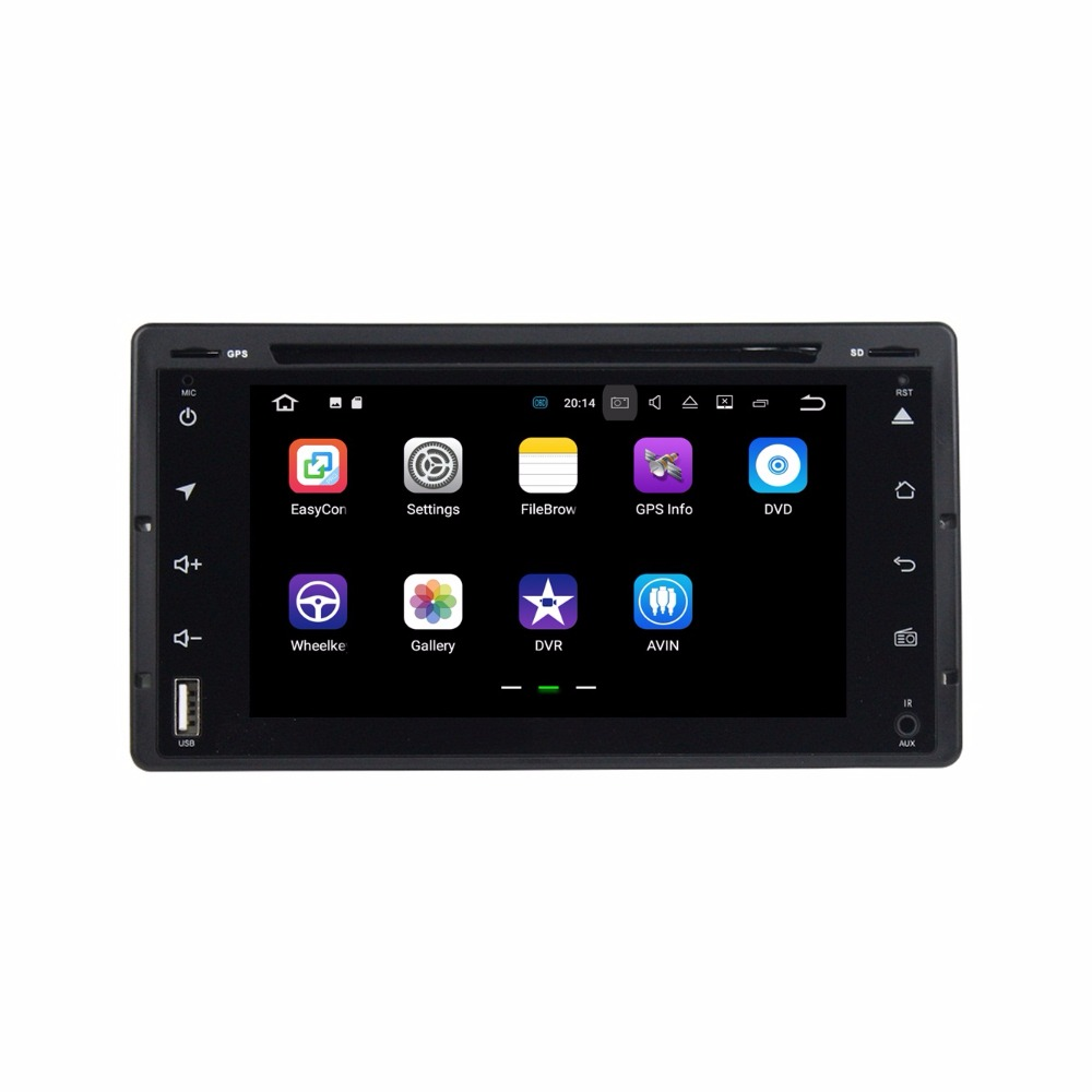 Android 7.1 Car Radio DVD GPS Multimedia Head Unit for Ford Victoria 2008-2012 With 2GB RAM Bluetooth WIFI Mirror-link