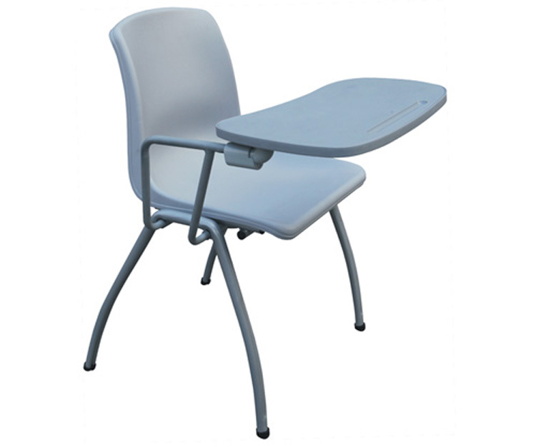 school writing chair stackable study chair with writing pad hot sale